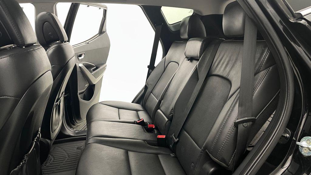 Black[Twilight Black] 2017 Hyundai Santa Fe Sport Limited 2.0T AWD - Panoramic Roof, Leather Left Side Rear Seat  Photo in Winnipeg MB