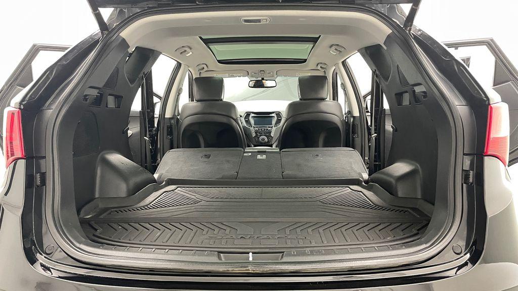 Black[Twilight Black] 2017 Hyundai Santa Fe Sport Limited 2.0T AWD - Panoramic Roof, Leather Rear Seat: Cargo/Storage Photo in Winnipeg MB