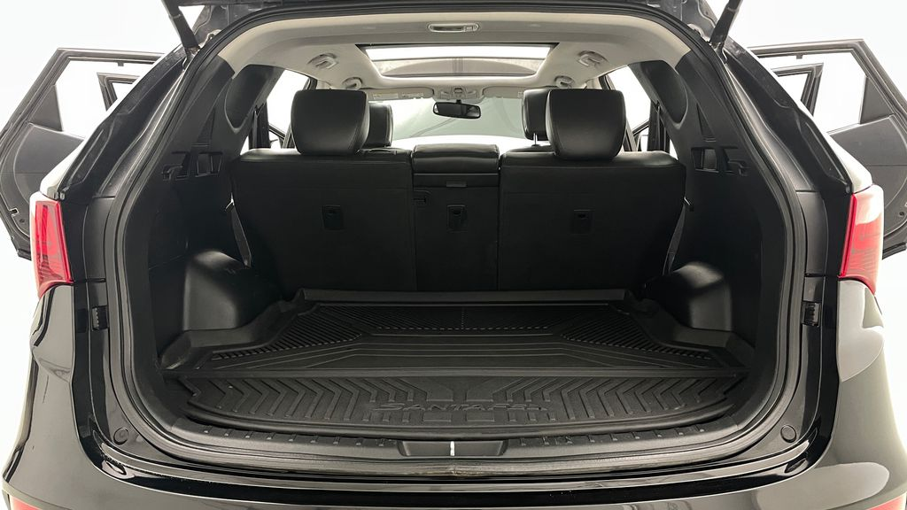 Black[Twilight Black] 2017 Hyundai Santa Fe Sport Limited 2.0T AWD - Panoramic Roof, Leather Trunk / Cargo Area Photo in Winnipeg MB