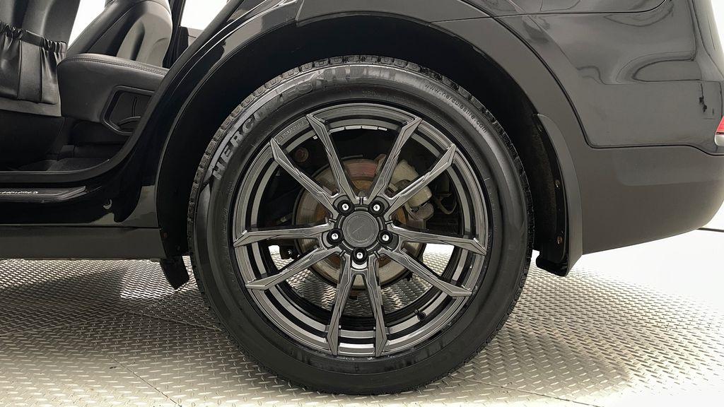 Black[Twilight Black] 2017 Hyundai Santa Fe Sport Limited 2.0T AWD - Panoramic Roof, Leather Left Rear Rim and Tire Photo in Winnipeg MB