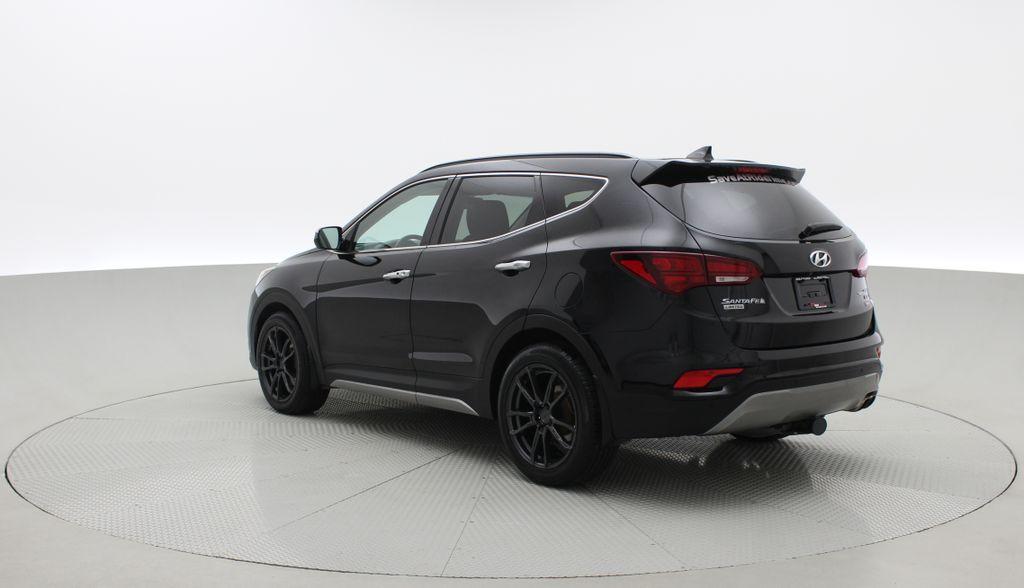 Black[Twilight Black] 2017 Hyundai Santa Fe Sport Limited 2.0T AWD - Panoramic Roof, Leather Right  Rear Corner Photo in Winnipeg MB