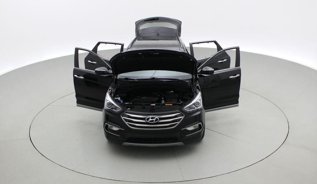 Black[Twilight Black] 2017 Hyundai Santa Fe Sport Limited 2.0T AWD - Panoramic Roof, Leather Front Vehicle Photo in Winnipeg MB