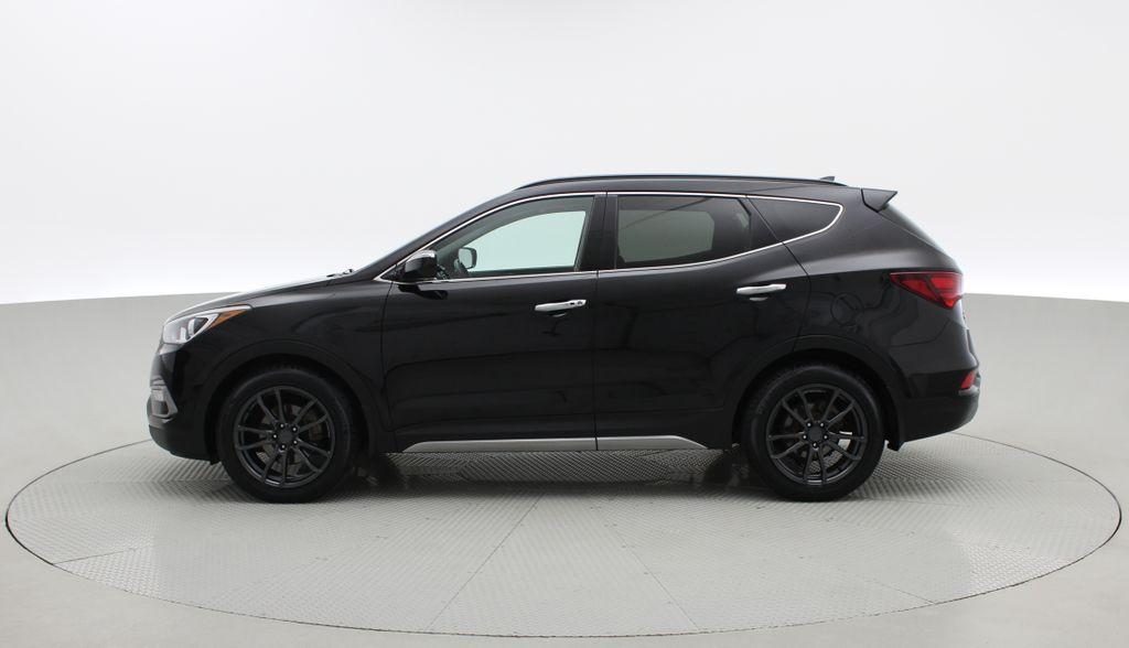 Black[Twilight Black] 2017 Hyundai Santa Fe Sport Limited 2.0T AWD - Panoramic Roof, Leather Left Side Photo in Winnipeg MB