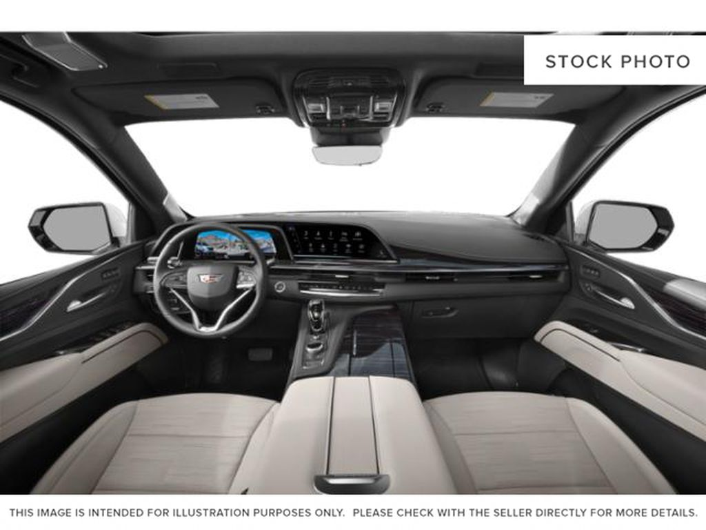Gray[Satin Steel Metallic] 2021 Cadillac Escalade Central Dash Options Photo in Edmonton AB