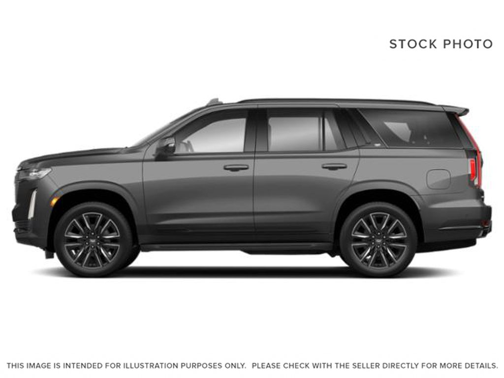 Gray[Satin Steel Metallic] 2021 Cadillac Escalade Left Side Photo in Edmonton AB