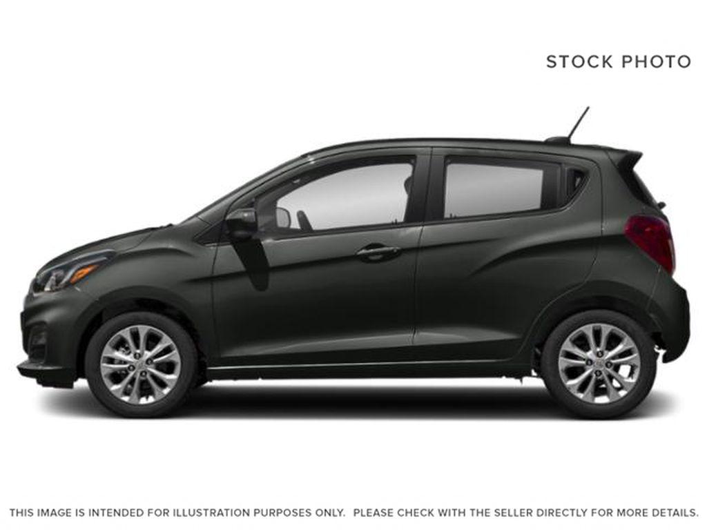 Gray[Nightfall Grey] 2021 Chevrolet Spark Left Side Photo in Edmonton AB