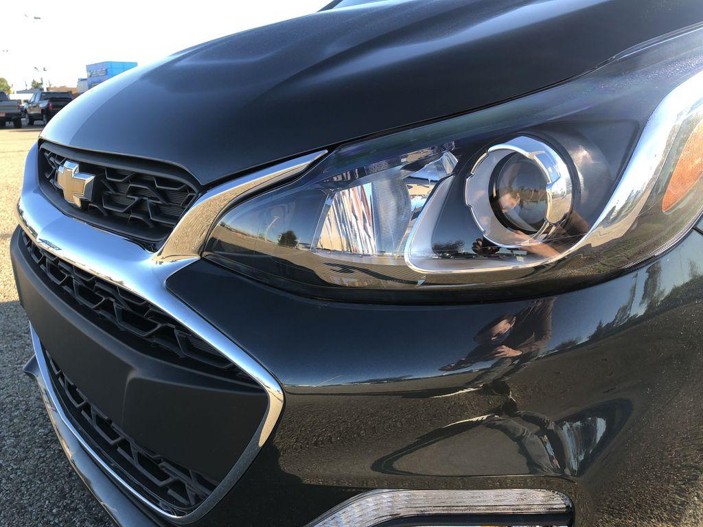 Gray[Nightfall Grey] 2021 Chevrolet Spark Left Front Head Light / Bumper and Grill in Edmonton AB