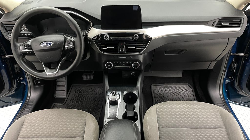Blue[Blue Metallic] 2020 Ford Escape SE AWD - Apple CarPlay / Android Auto, Bluetooth Central Dash Options Photo in Winnipeg MB