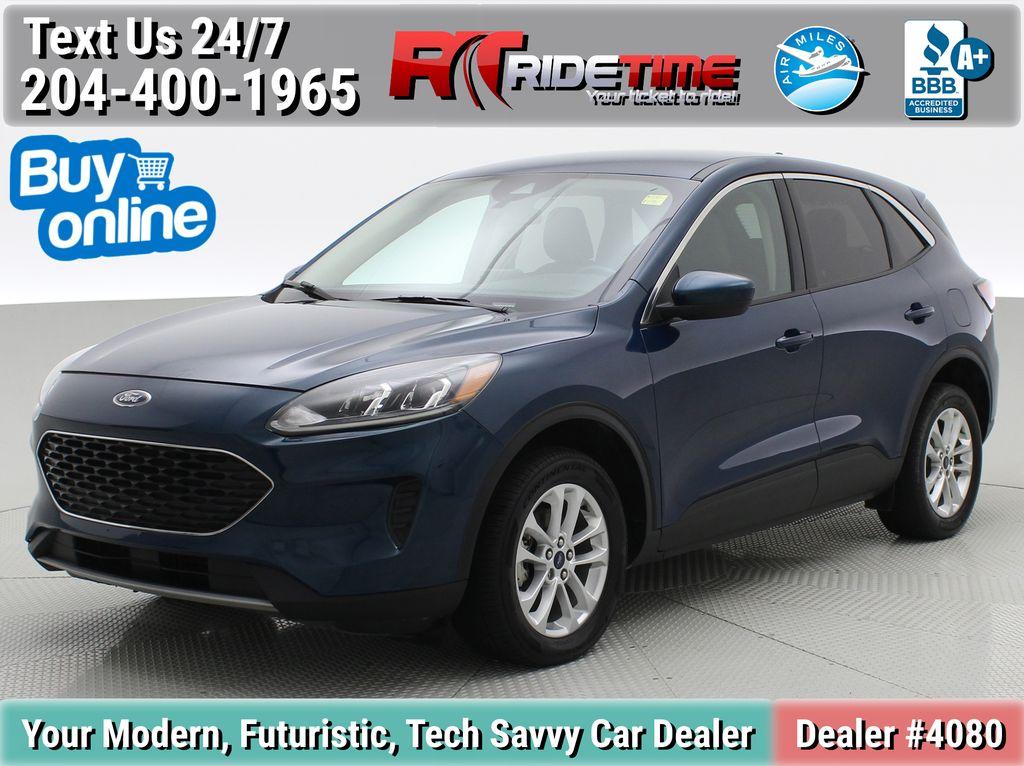 Blue[Blue Metallic] 2020 Ford Escape SE AWD - Apple CarPlay / Android Auto, Bluetooth