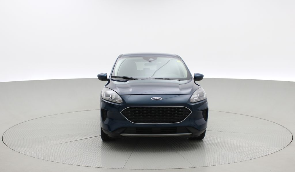 Blue[Blue Metallic] 2020 Ford Escape SE AWD - Apple CarPlay / Android Auto, Bluetooth Front Vehicle Photo in Winnipeg MB