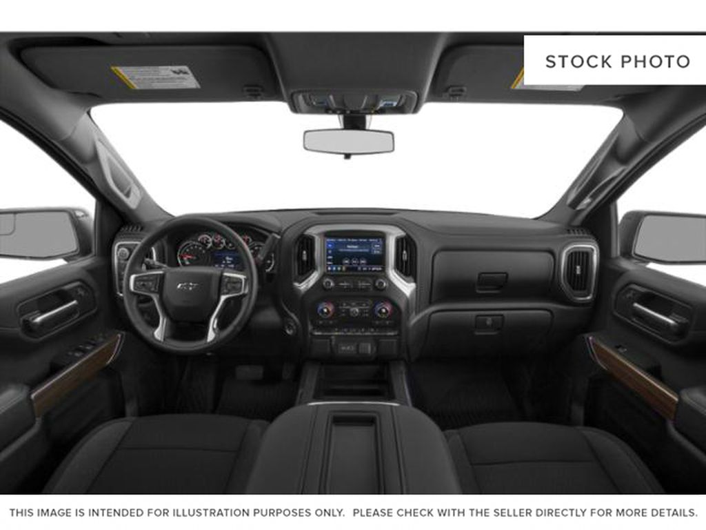 Gray[Shadow Grey Metallic] 2021 Chevrolet Silverado 1500 Central Dash Options Photo in Canmore AB