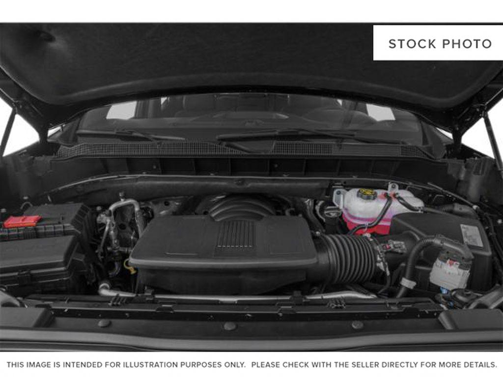 Gray[Shadow Grey Metallic] 2021 Chevrolet Silverado 1500 Engine Compartment Photo in Canmore AB