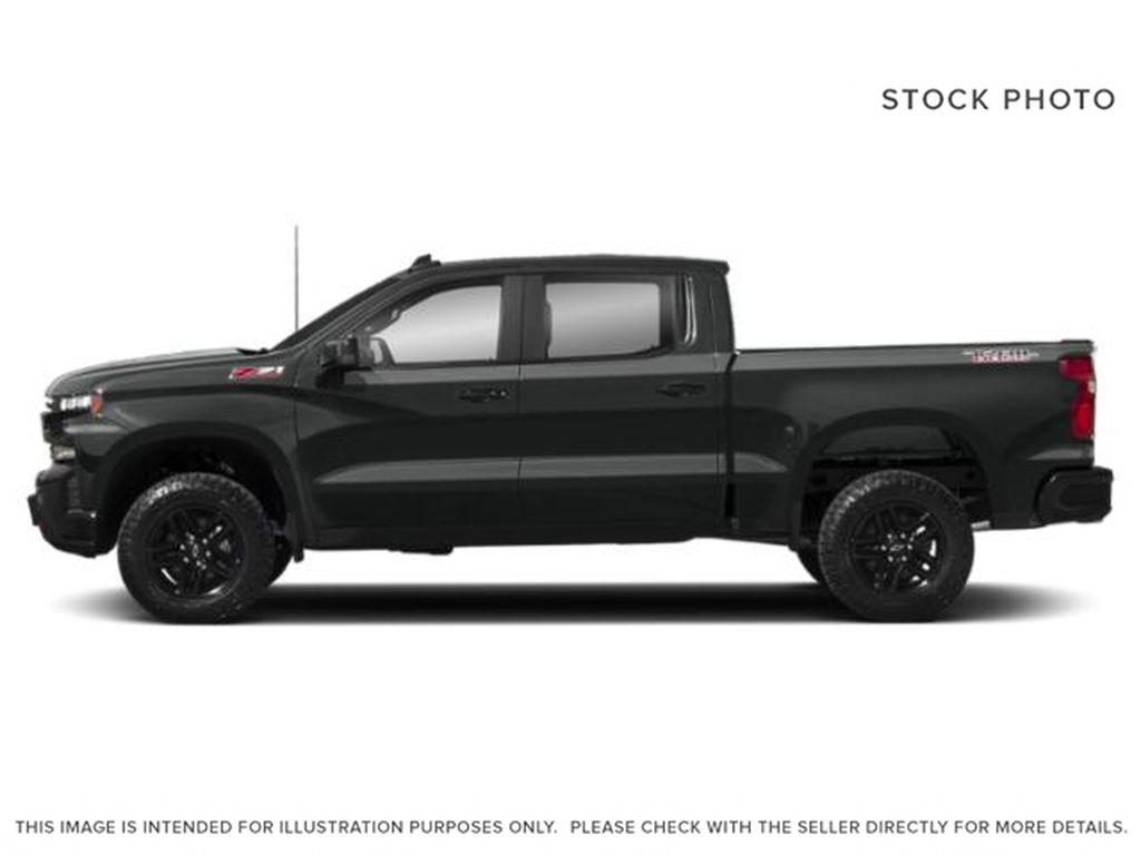 Gray[Shadow Grey Metallic] 2021 Chevrolet Silverado 1500 Left Side Photo in Canmore AB