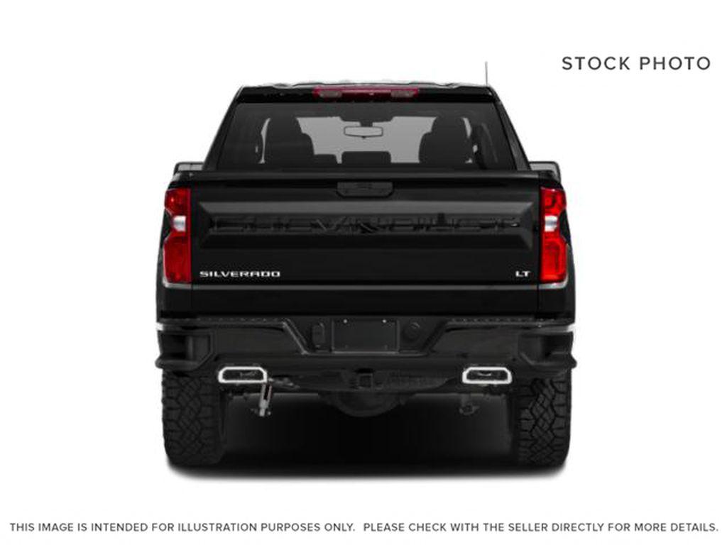 Gray[Shadow Grey Metallic] 2021 Chevrolet Silverado 1500 Rear of Vehicle Photo in Canmore AB