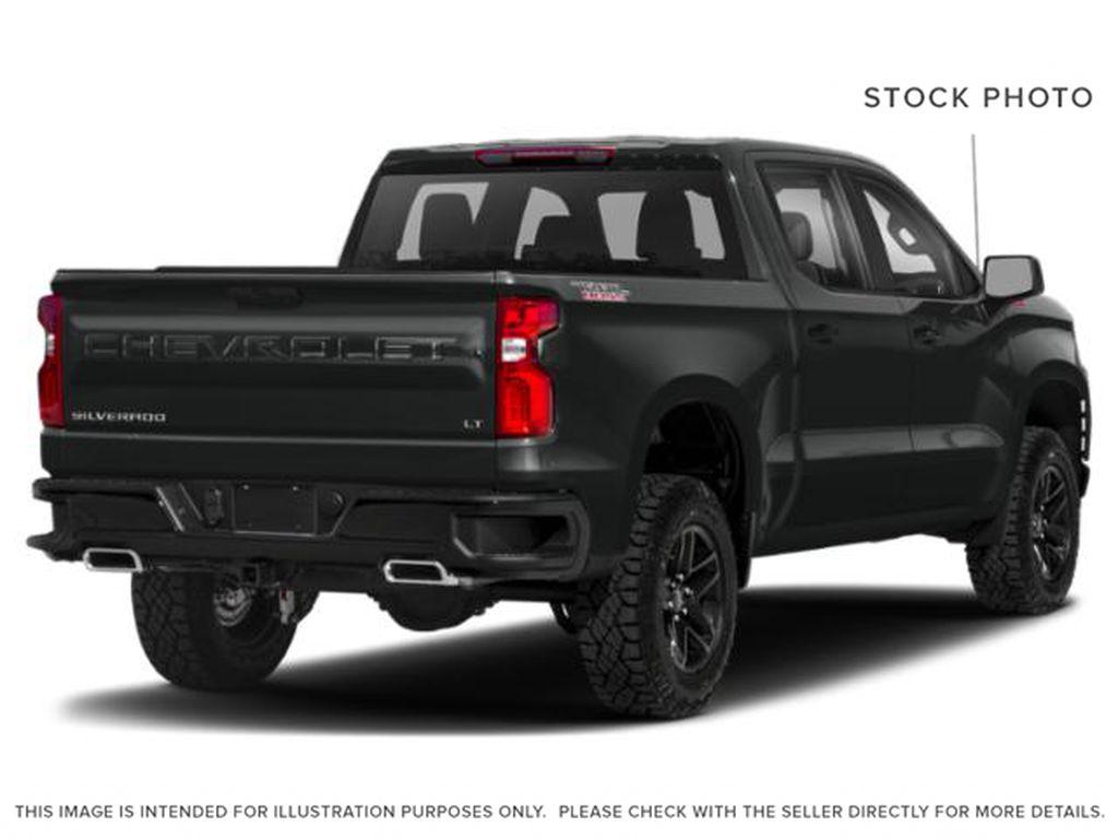 Gray[Shadow Grey Metallic] 2021 Chevrolet Silverado 1500 Right Rear Corner Photo in Canmore AB
