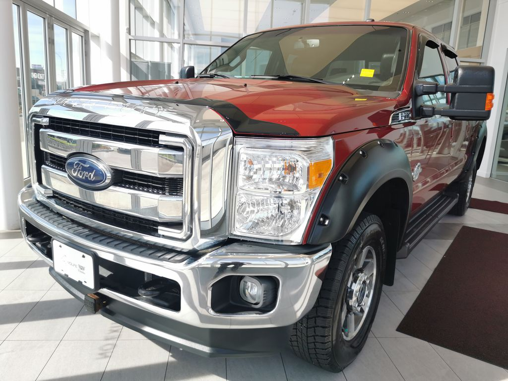 Red[Race Red] 2016 Ford Super Duty F-350 SRW Left Front Corner Photo in Edmonton AB
