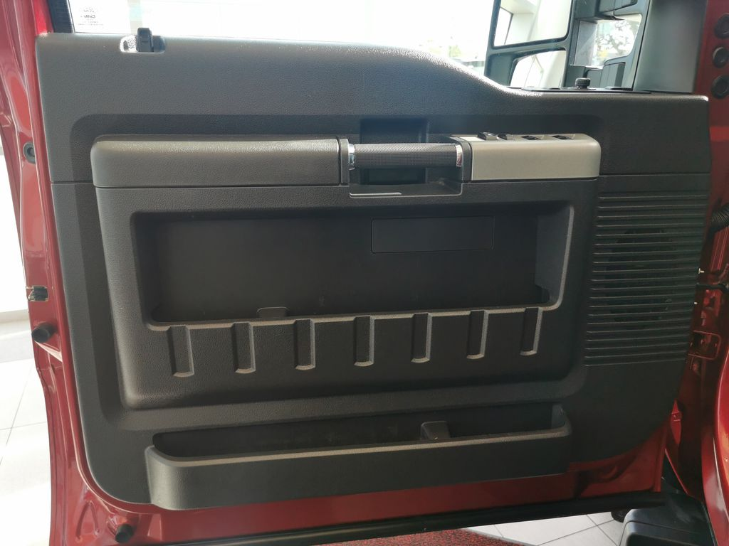 Red[Race Red] 2016 Ford Super Duty F-350 SRW Left Front Interior Door Panel Photo in Edmonton AB