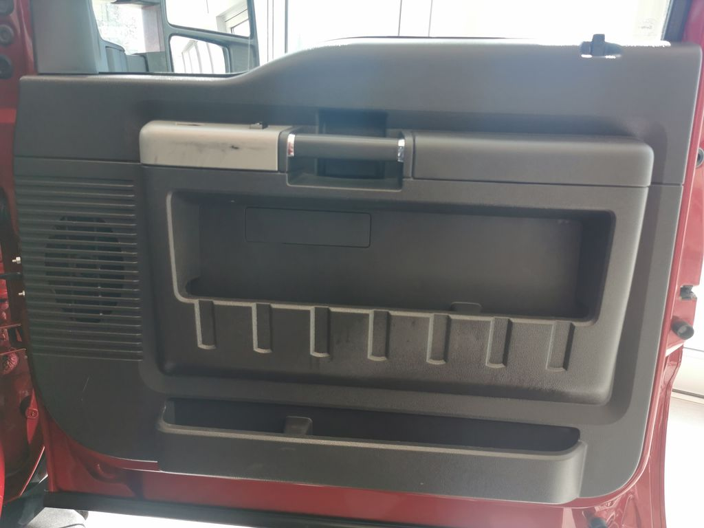 Red[Race Red] 2016 Ford Super Duty F-350 SRW Right Front Interior Door Panel Photo in Edmonton AB