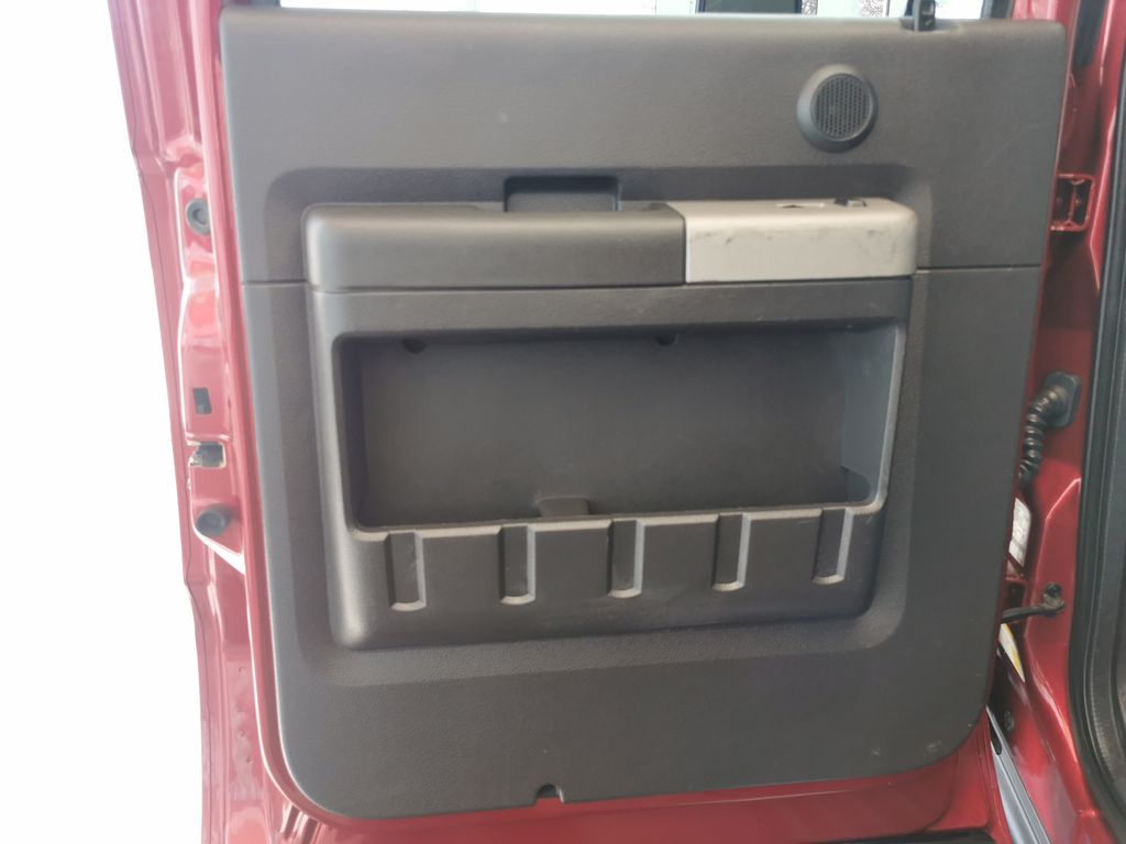 Red[Race Red] 2016 Ford Super Duty F-350 SRW Left Rear Interior Door Panel Photo in Edmonton AB