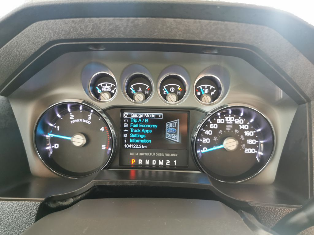 Red[Race Red] 2016 Ford Super Duty F-350 SRW Odometer Photo in Edmonton AB