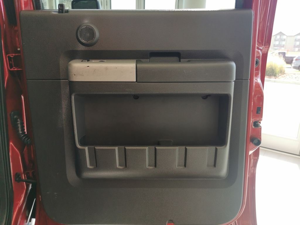 Red[Race Red] 2016 Ford Super Duty F-350 SRW Right Rear Interior Door Panel Photo in Edmonton AB
