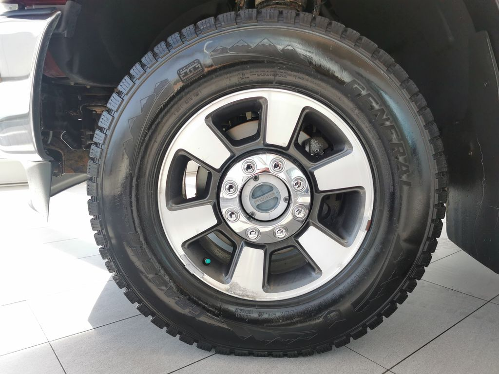 Red[Race Red] 2016 Ford Super Duty F-350 SRW Left Front Rim and Tire Photo in Edmonton AB