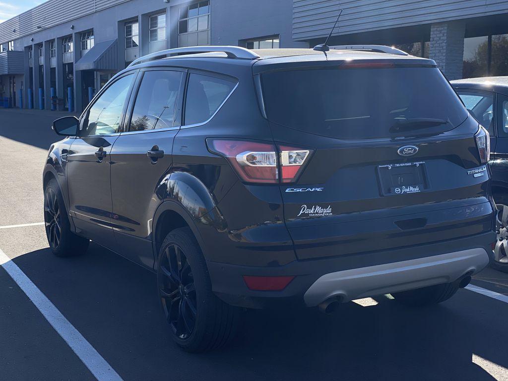 WHITE 2017 Ford Escape Titanium  Driver's Side Door Controls Photo in Edmonton AB