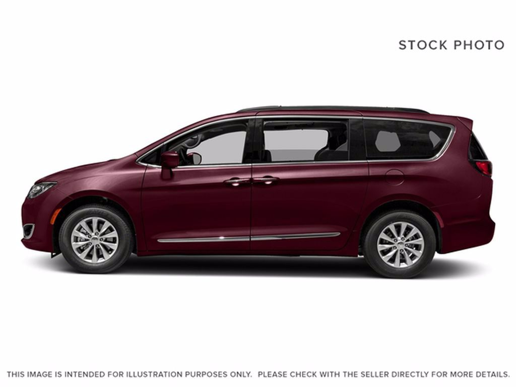 Red[Velvet Red Pearl] 2017 Chrysler Pacifica Engine Compartment Photo in Brandon MB