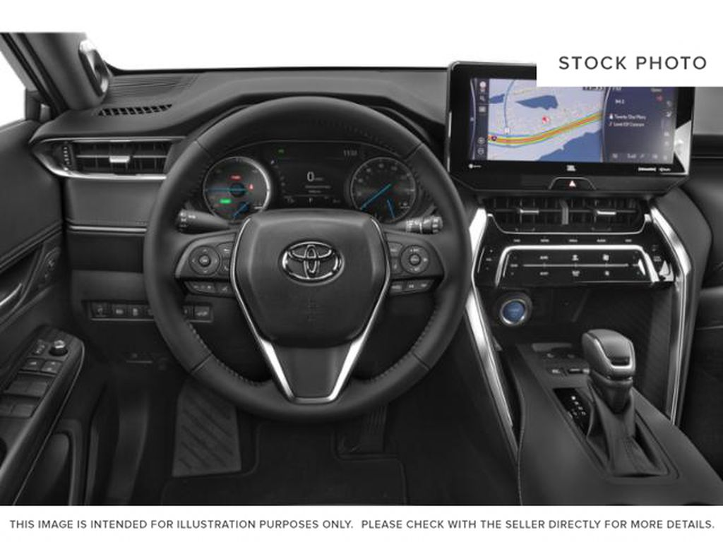 White[Blizzard Pearl] 2021 Toyota Venza Left Front Interior Photo in Brockville ON