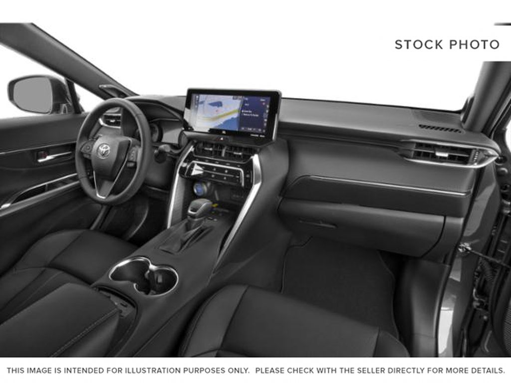 White[Blizzard Pearl] 2021 Toyota Venza Steering Wheel and Dash Photo in Brockville ON