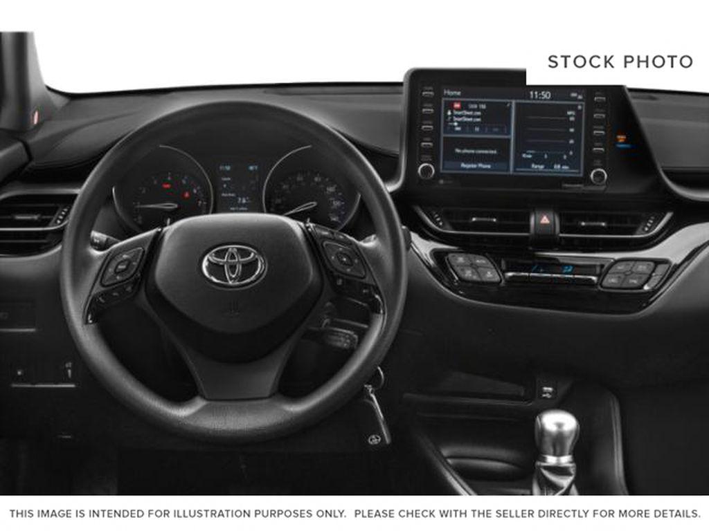 Black[Black Sand Pearl] 2021 Toyota C-HR Left Front Interior Photo in Brockville ON
