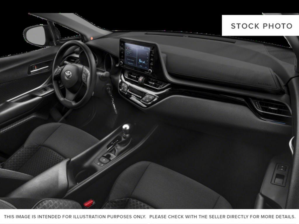 Black[Black Sand Pearl] 2021 Toyota C-HR Steering Wheel and Dash Photo in Brockville ON