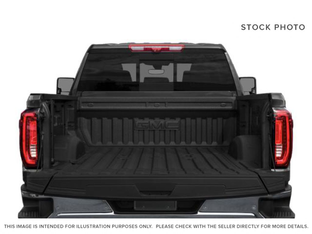 Black[Onyx Black] 2022 GMC Sierra 3500HD AT4 Trunk / Cargo Area Photo in Calgary AB