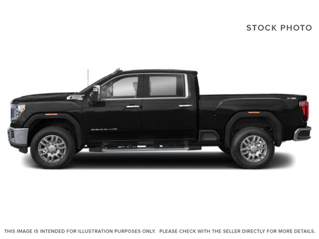 Black[Onyx Black] 2022 GMC Sierra 3500HD AT4 Left Side Photo in Calgary AB