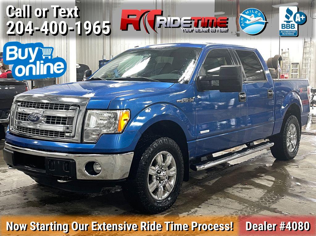 Blue[Blue Flame Metallic] 2012 Ford F-150 XLT XTR - SuperCrew, 3.5L EcoBoost