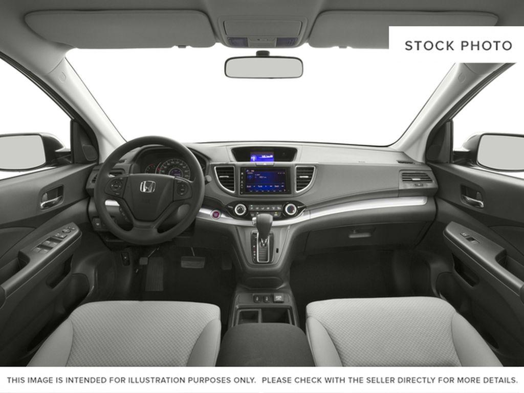 Silver[Alabaster Silver Metallic] 2016 Honda CR-V Central Dash Options Photo in Dartmouth NS