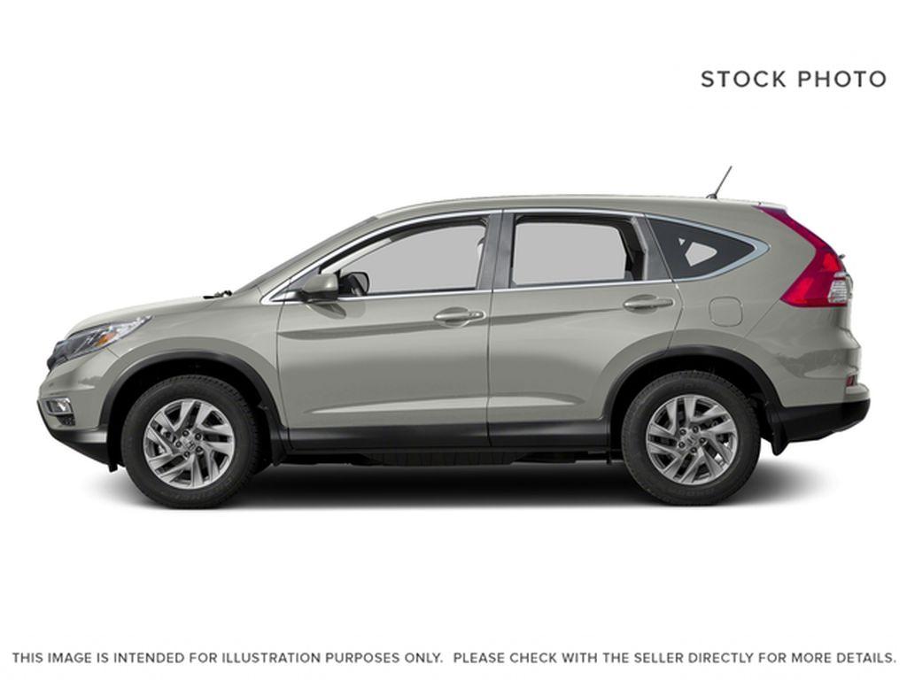 Silver[Alabaster Silver Metallic] 2016 Honda CR-V Left Side Photo in Dartmouth NS