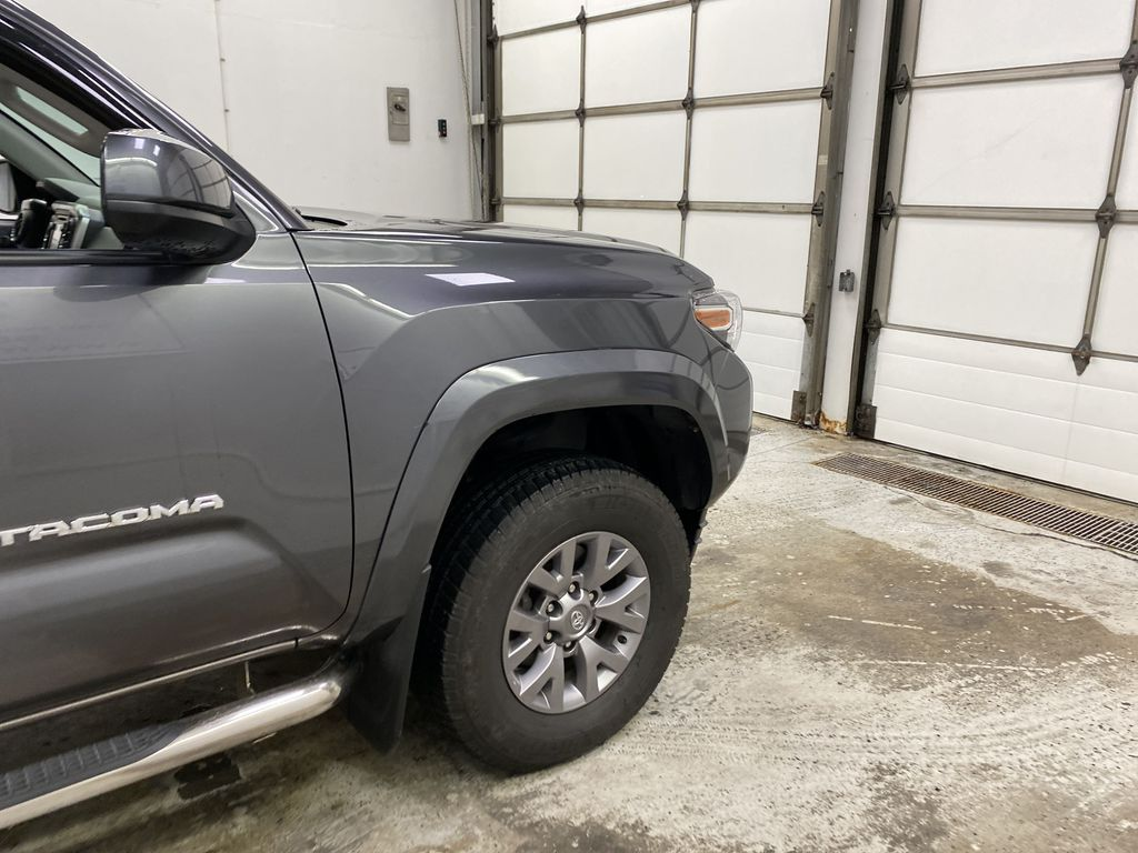 Gray[Cement Grey Metallic] 2019 Toyota Tacoma Right Front Corner Photo in Dartmouth NS