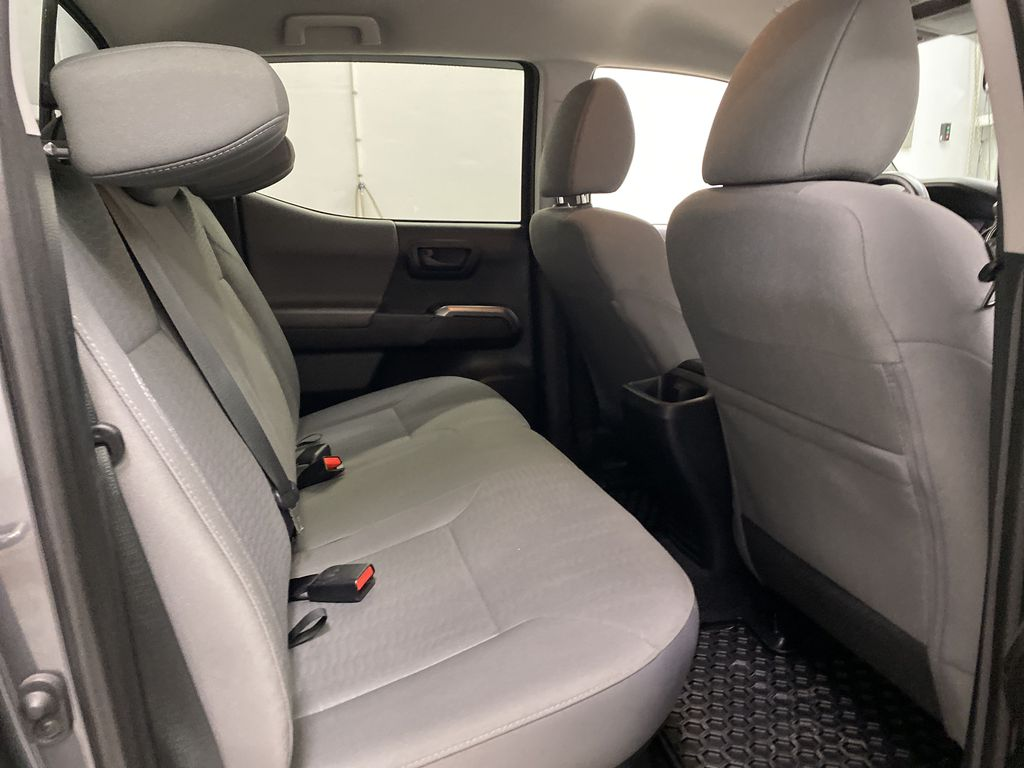 Gray[Cement Grey Metallic] 2019 Toyota Tacoma Right Side Rear Seat  Photo in Dartmouth NS