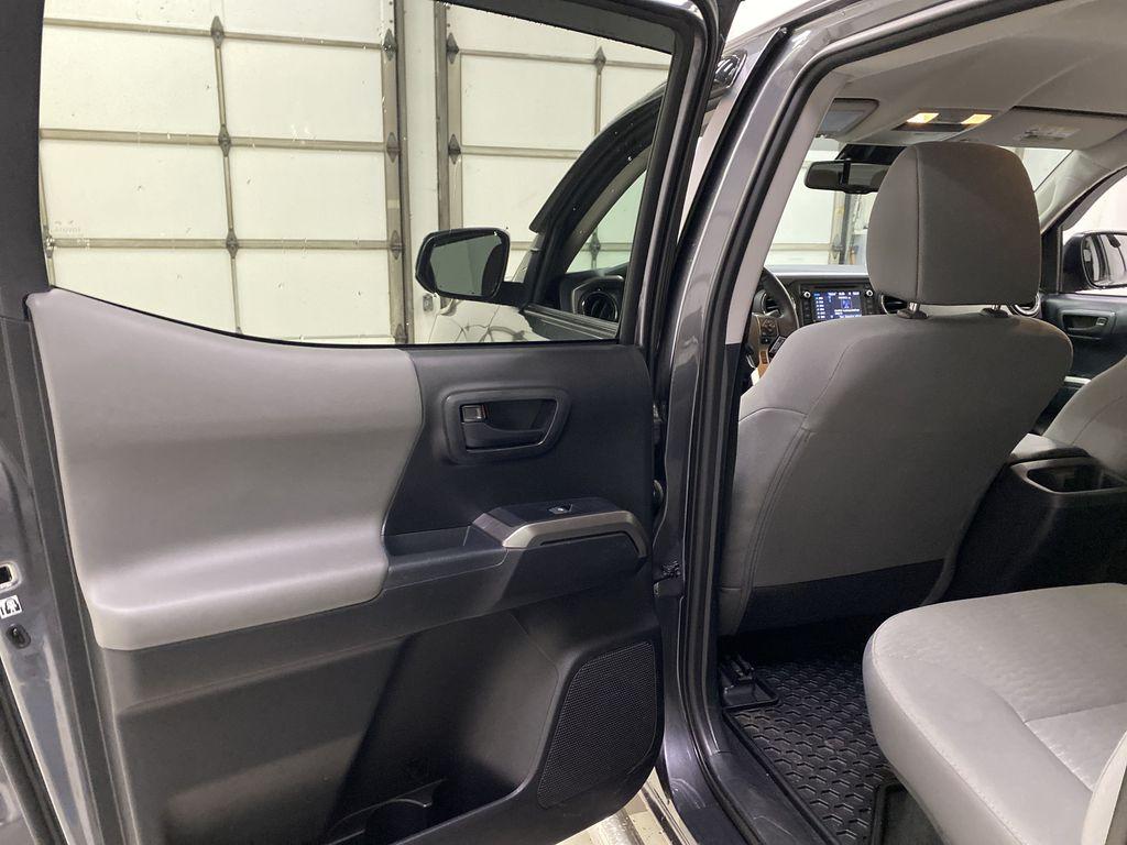 Gray[Cement Grey Metallic] 2019 Toyota Tacoma Left Rear Interior Door Panel Photo in Dartmouth NS