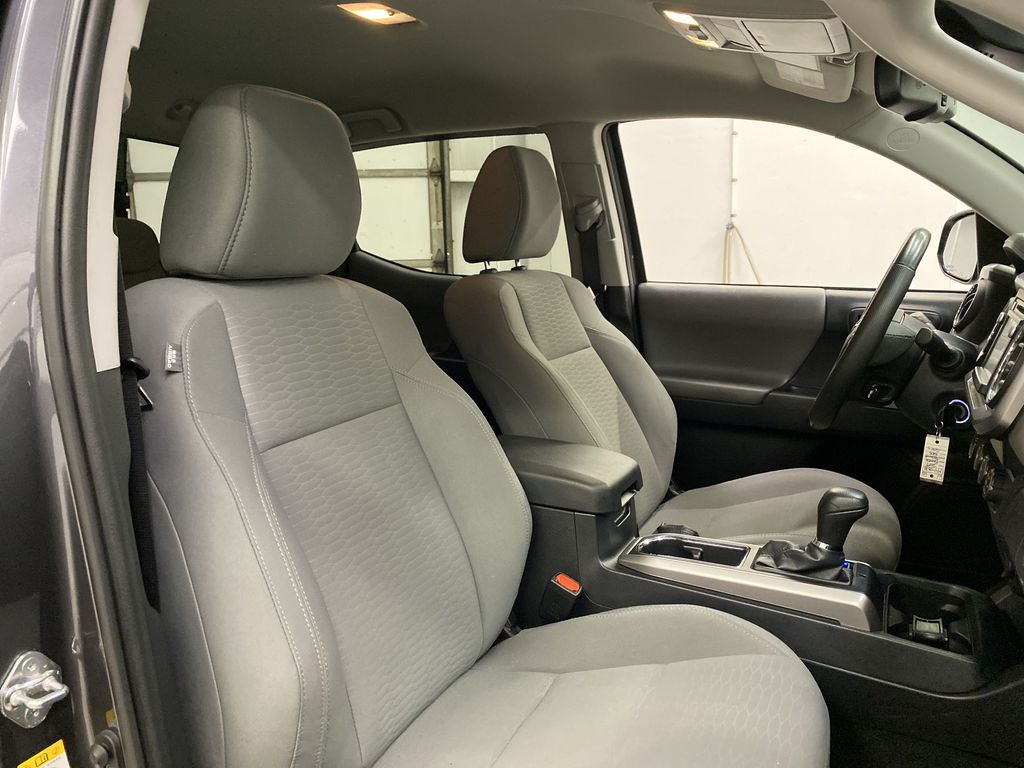 Gray[Cement Grey Metallic] 2019 Toyota Tacoma Right Side Front Seat  Photo in Dartmouth NS