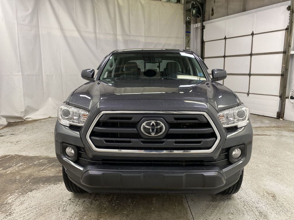 Gray[Cement Grey Metallic] 2019 Toyota Tacoma Front Vehicle Photo in Dartmouth NS