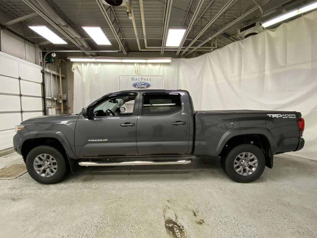 Gray[Cement Grey Metallic] 2019 Toyota Tacoma Left Side Photo in Dartmouth NS