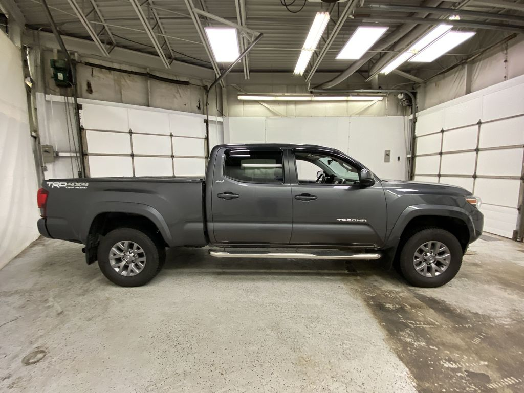 Gray[Cement Grey Metallic] 2019 Toyota Tacoma Right Side Photo in Dartmouth NS