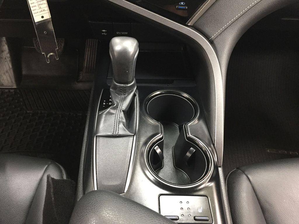 White[Super White] 2019 Toyota Camry SE Lower Dash Photo in Sherwood Park AB