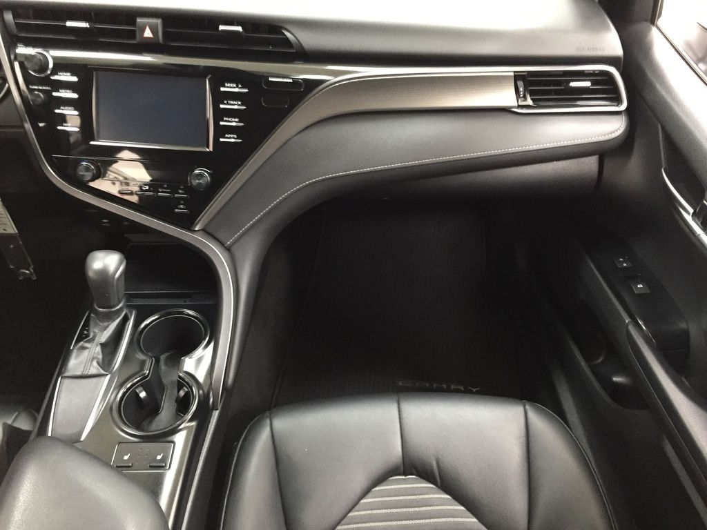 White[Super White] 2019 Toyota Camry SE Right Front Seat Photo in Sherwood Park AB