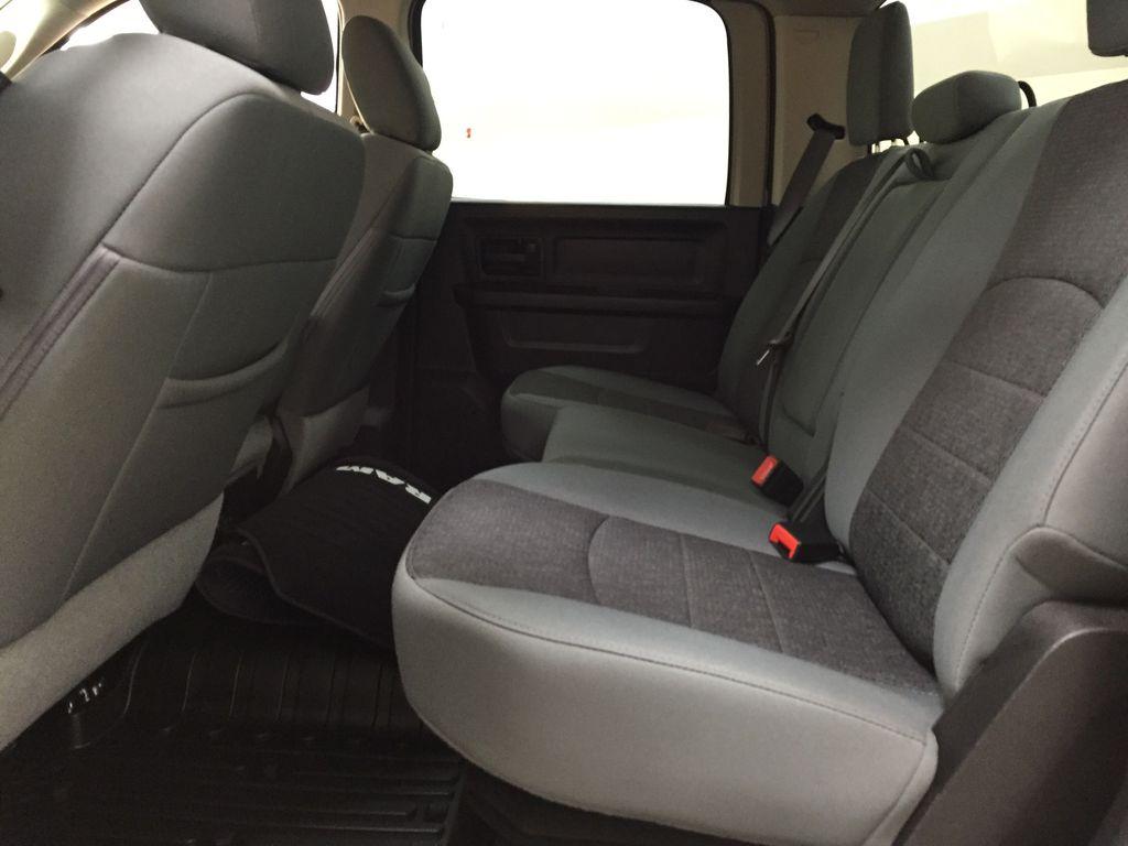 Black[Black] 2020 Ram 1500 Classic CREW CAB 4X4 5.7L HEMI Left Side Rear Seat  Photo in Sherwood Park AB