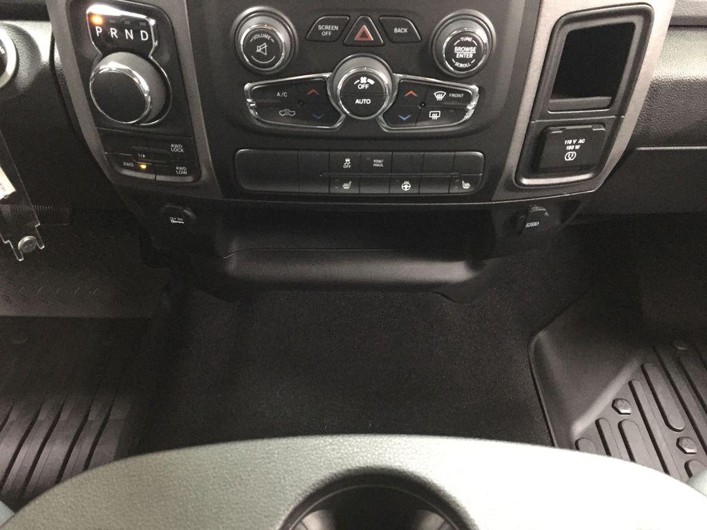 Black[Black] 2020 Ram 1500 Classic CREW CAB 4X4 5.7L HEMI Lower Dash Photo in Sherwood Park AB