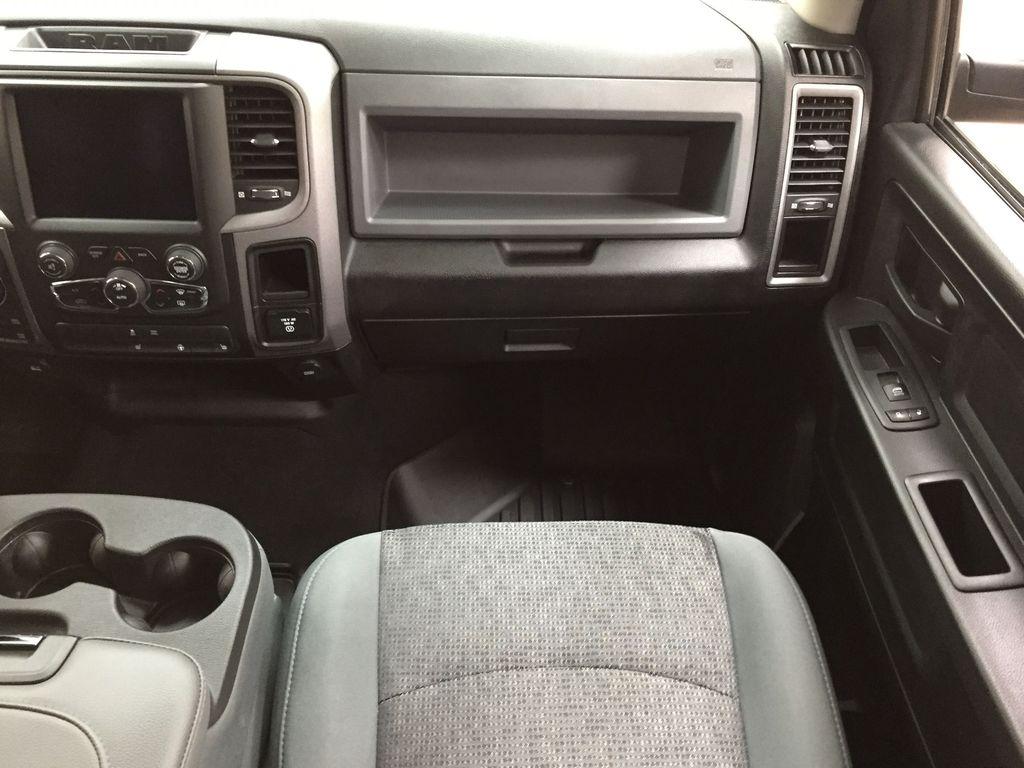 Black[Black] 2020 Ram 1500 Classic CREW CAB 4X4 5.7L HEMI Right Front Seat Photo in Sherwood Park AB