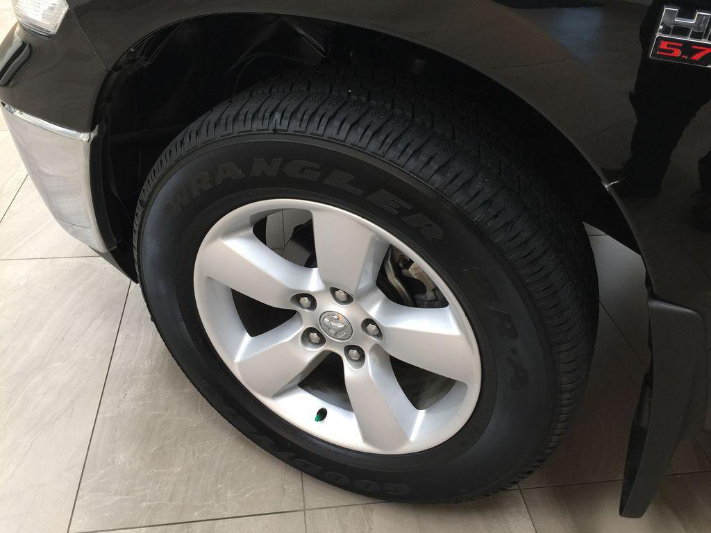 Black[Black] 2020 Ram 1500 Classic CREW CAB 4X4 5.7L HEMI Left Front Rim and Tire Photo in Sherwood Park AB